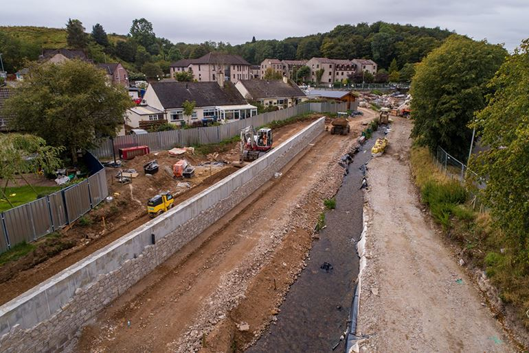 Stonehaven Flood Protection Scheme