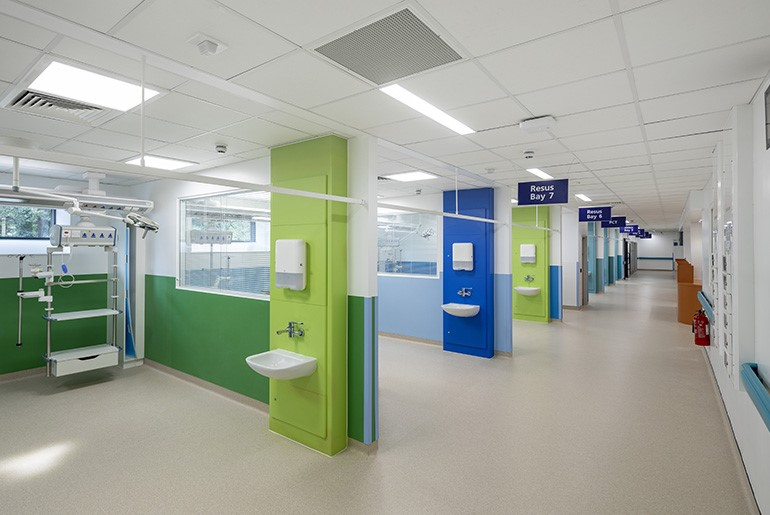 John Radcliffe Hospital Emergency Department, Oxford