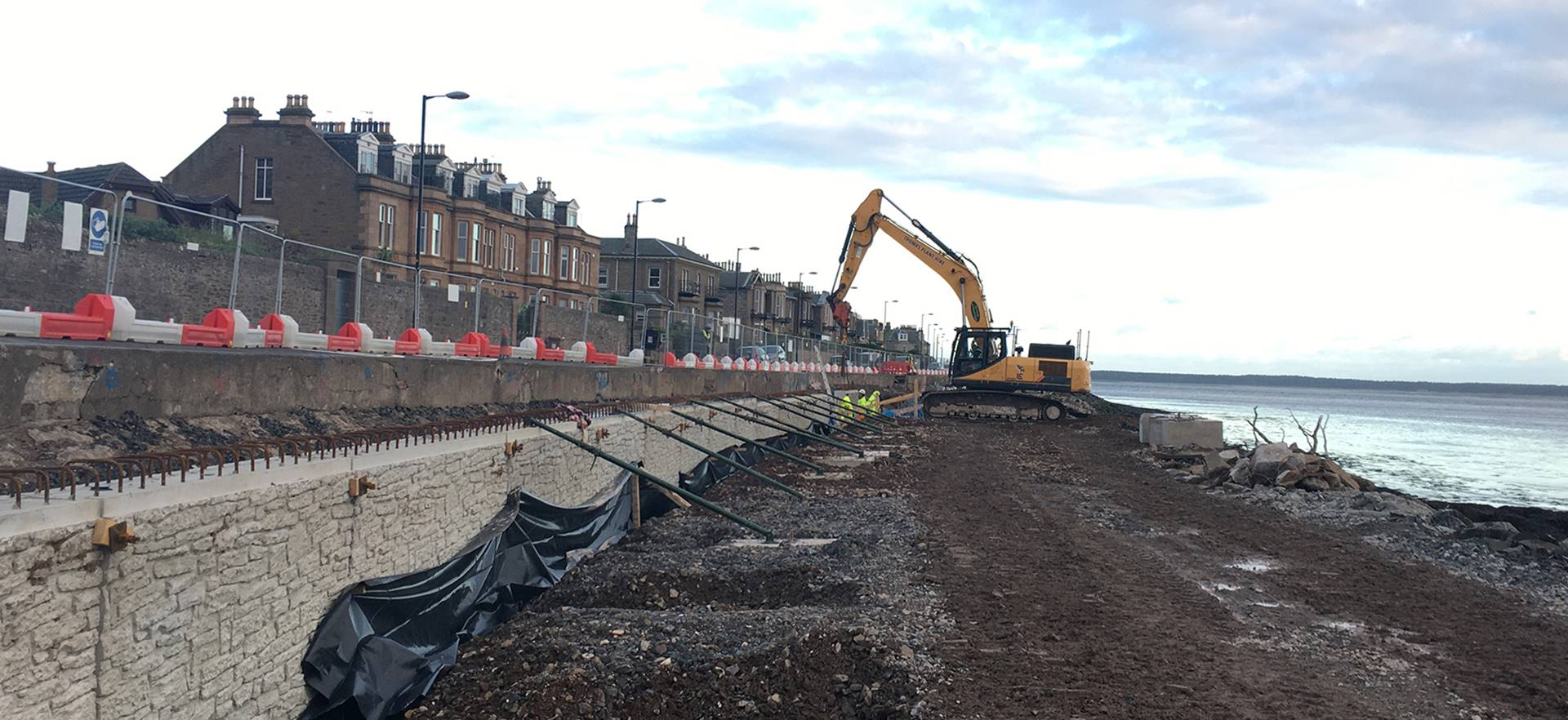 Broughty Ferry Flood Protection Scheme, Dundee