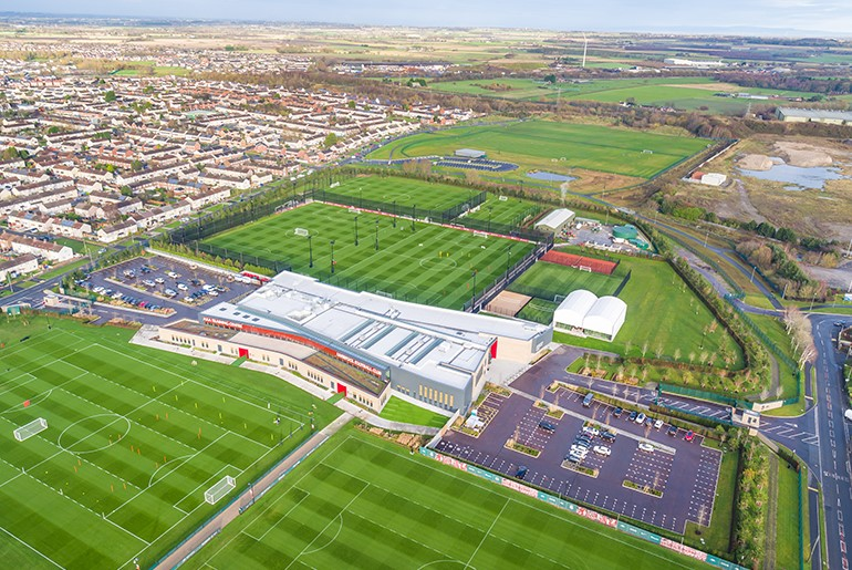 Liverpool Football Club AXA Training Centre, Kirkby