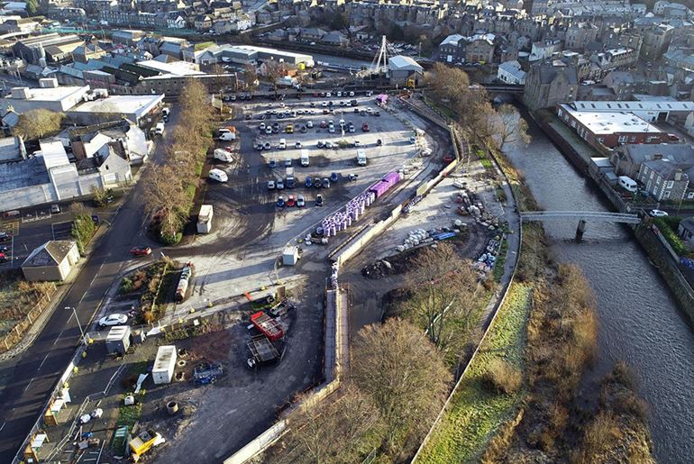 Hawick Flood Protection Scheme