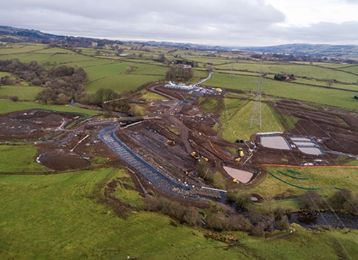 Want to work on our Upper Garnock Flood Protection Scheme?