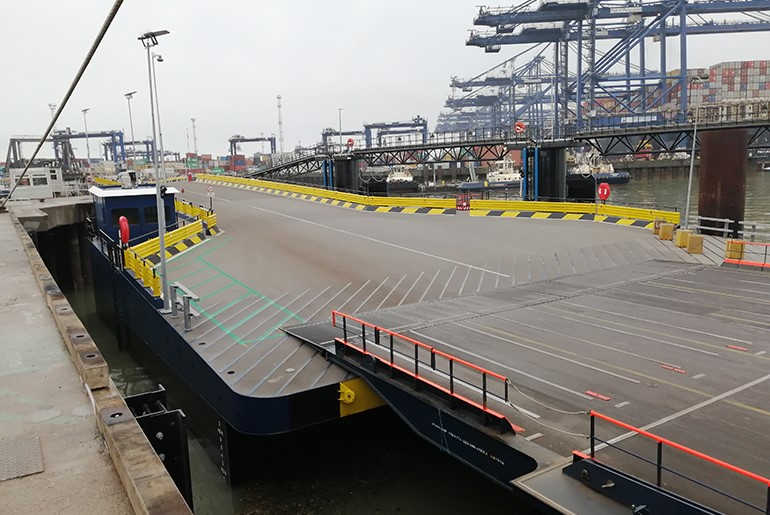 Port of Felixstowe Dooley Terminal Upgrading RoRo 3 & 4